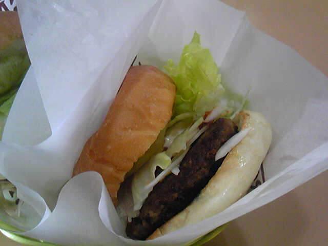 島根和牛バーガーなう